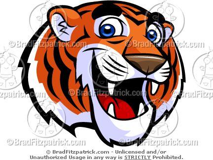 Tiger mascot clipart clipart stock Cute Tiger Mascot Clip Art! - Cute Tiger Mascot Logos ... clipart stock