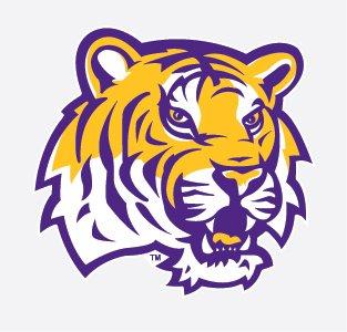 Tiger mascot clipart vector free stock LSU Tigers TIGER HEAD Mascot Logo 4\