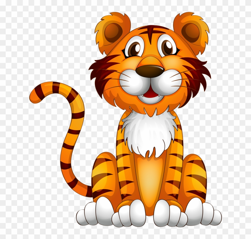 Tiger on a rock clipart image download Rock Clipart Jungle - Letter T For Tiger - Png Download ... image download