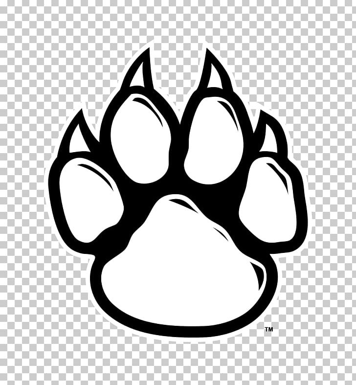 Tiger paw clipart in white jpg Wildcat Tiger Paw PNG, Clipart, Bear, Black, Black And White ... jpg