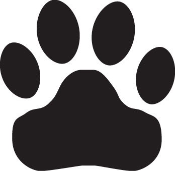 Tiger paw clipart in white banner library library Free Tiger Paw, Download Free Clip Art, Free Clip Art on ... banner library library