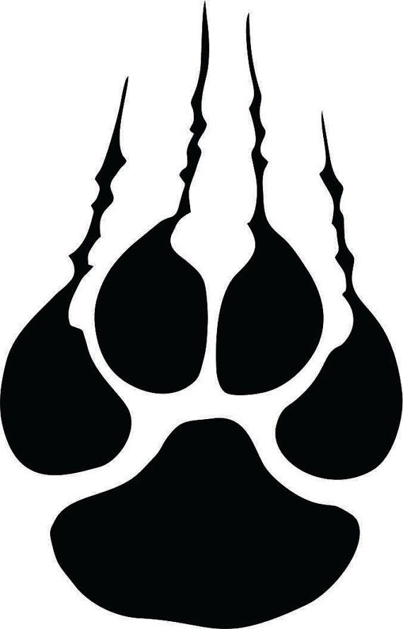 Tiger paw with claws clipart freeuse library Pin by Jennifer Reed on Sports | Tiger claw, Tiger design ... freeuse library