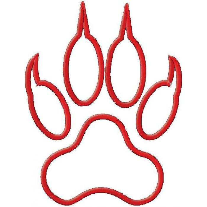 Tiger paw with claws clipart svg freeuse stock Free Tiger Paw Clipart, Download Free Clip Art, Free Clip ... svg freeuse stock