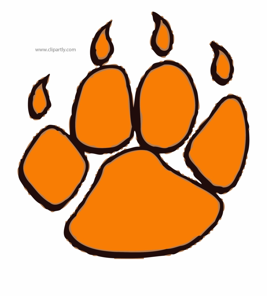 Tiger paws clipart png library stock Paw Tigger Footprint Clipart Png Image Download - Tiger Paws ... png library stock
