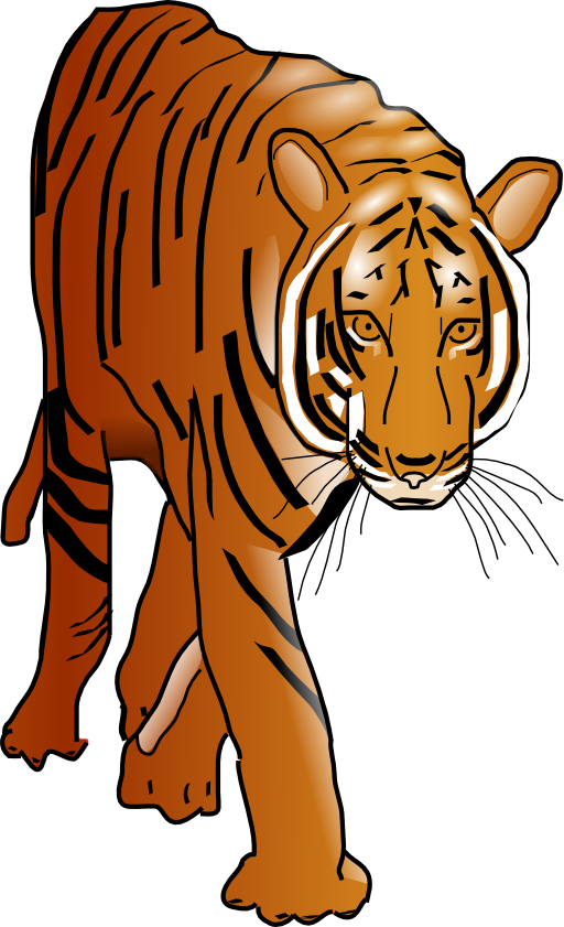 Tiger reading a book clipart banner freeuse Tiger Clipart | i2Clipart - Royalty Free Public Domain Clipart banner freeuse