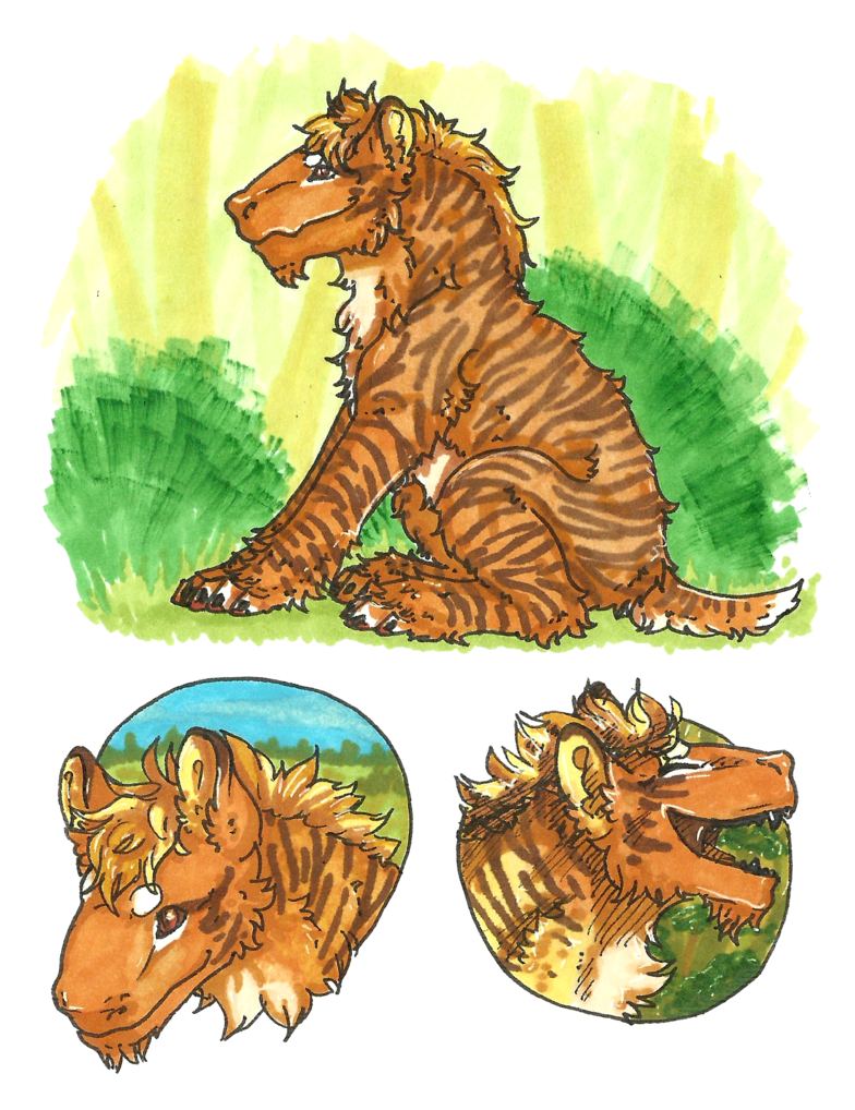 Tiger stripe pumpkin clipart picture freeuse download Little Tiger [ARPG: Seux] by popolis on DeviantArt picture freeuse download