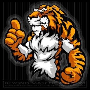 Tiger wrestling clipart jpg royalty free download Wrestling Clipart Designs Archives - BeyondMascotArt.com jpg royalty free download