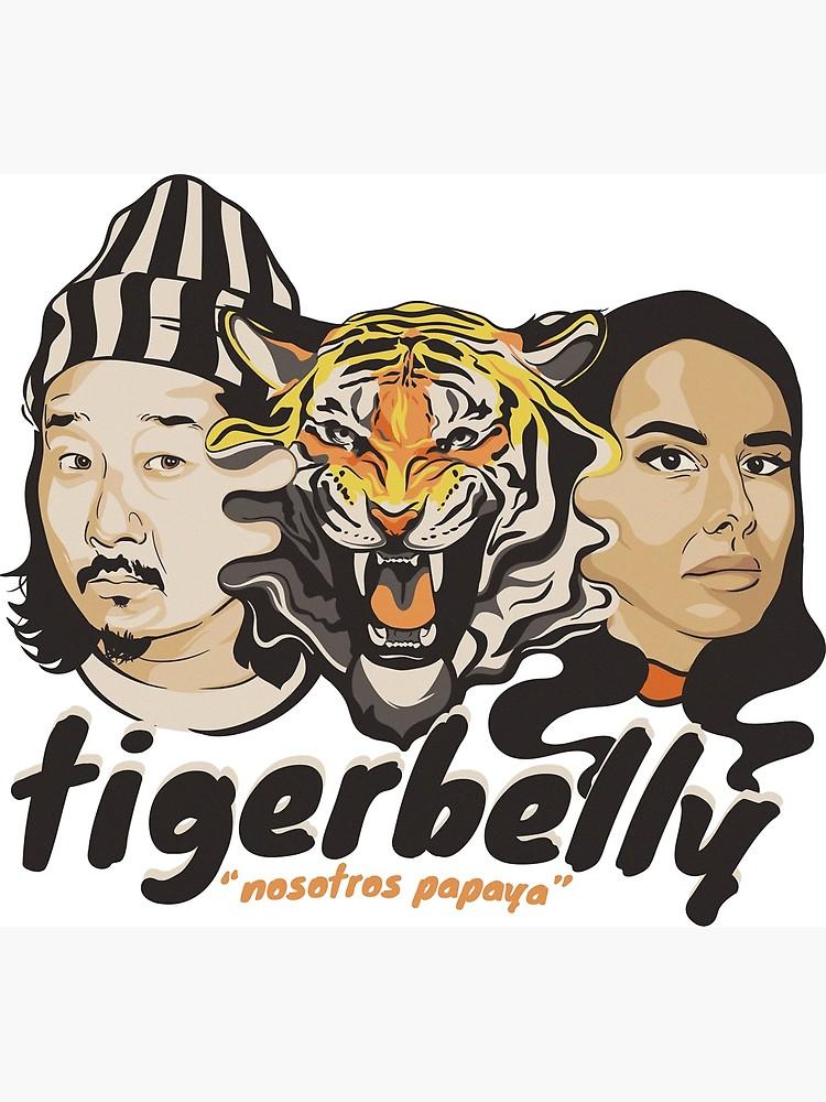 Tigerbelly clipart jpg royalty free TigerBelly Podcast Design Gift Shirt Tiger Art   Poster jpg royalty free