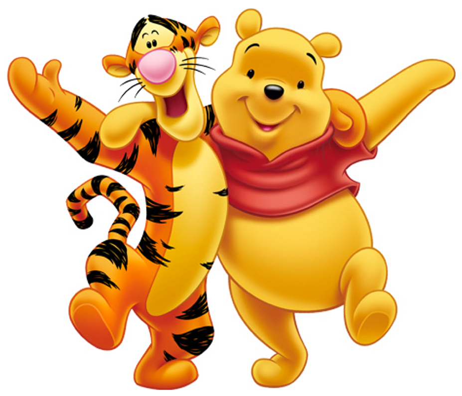 Tigger and pooh clipart clipart free library Transparent Winnie the Pooh and Tigger PNG Clipart ... clipart free library