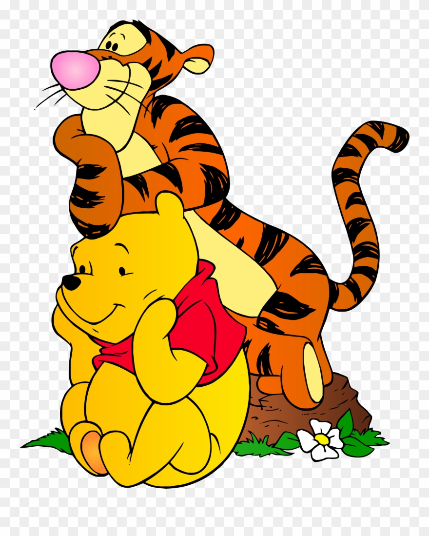 Tigger and pooh clipart graphic transparent download Winnie The Pooh And Tigger Png Clip Art Transparent Png ... graphic transparent download
