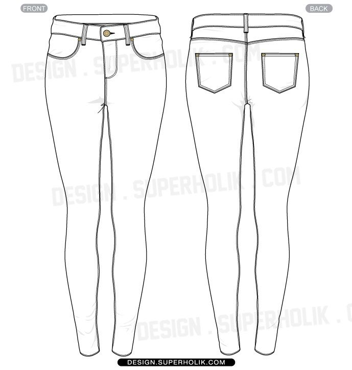 Tight jeans clipart clipart stock Skinny Jeans Drawing at PaintingValley.com | Explore ... clipart stock