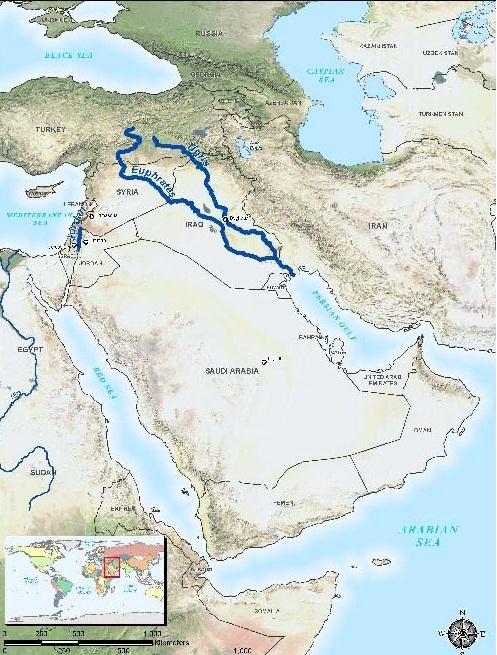Tigris river map clipart clipart transparent PARMIONOVA: World Rivers Day - September 26 clipart transparent
