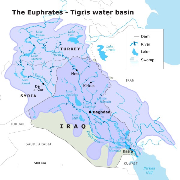 Tigris river map clipart picture black and white stock Maps Update #800842: Map of Iraq Rivers – Iraq River Map Major ... picture black and white stock