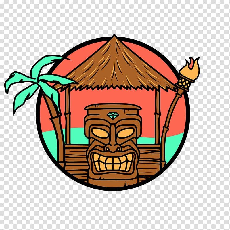 Tiki icon clipart picture download Tropical Tiki Huts Builder & Repair Service Tiki bar , tiki ... picture download