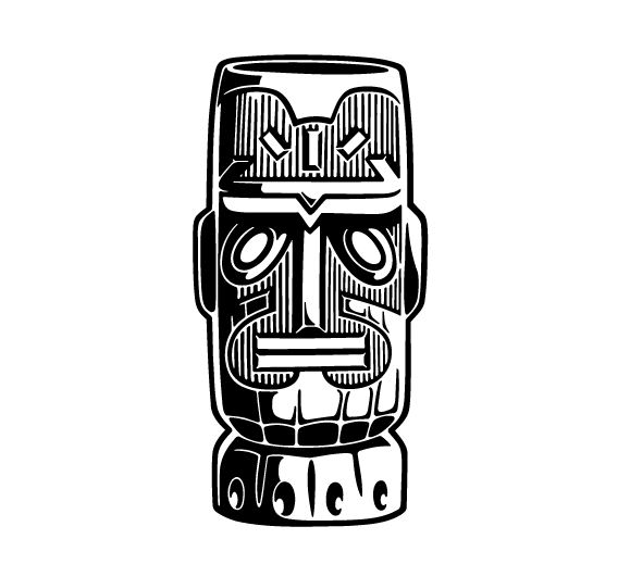 Tiki bar black and white vector clipart black and white download Tiki Clipart | Free download best Tiki Clipart on ClipArtMag.com black and white download