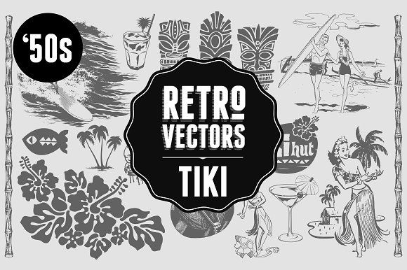 Tiki bar black and white vector clipart clipart free stock Tiki Graphics Poolside Luau? Tiki bar? Some South Sea ... clipart free stock