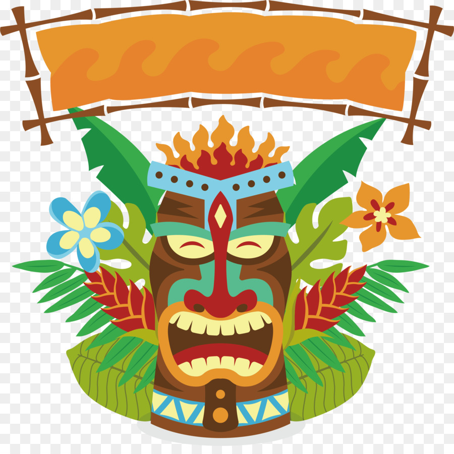 Tiki face clipart clip transparent library Tiki Tiki png download - 3170*3113 - Free Transparent Tiki ... clip transparent library