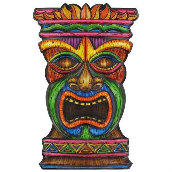 Tiki face clipart jpg freeuse download Hawaiian Tiki Face Art Form | Clipart Panda - Free Clipart ... jpg freeuse download