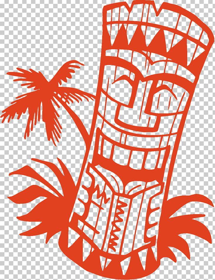 Tiki icon clipart black and white Tiki Hawaiian PNG, Clipart, Artwork, Black And White, Brunch ... black and white