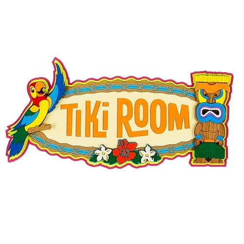Tiki room clipart picture free library Paper Wizard Tiki Room Die Cuts picture free library