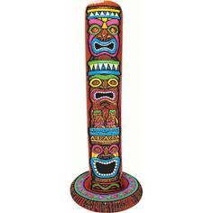 Tiki totem pole clipart image library download Totem Clipart Clipart Panda Free Clipart Images | Tiki Time ... image library download