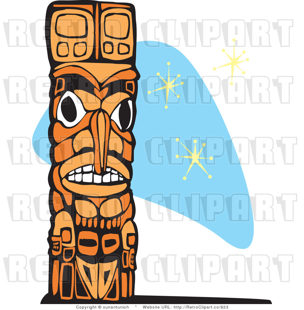 Tiki totem pole clipart picture library stock Free Totem Clipart, Download Free Clip Art, Free Clip Art on ... picture library stock