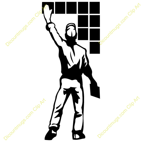 Tile installer clipart picture freeuse library Tile installer clipart 3 » Clipart Portal picture freeuse library