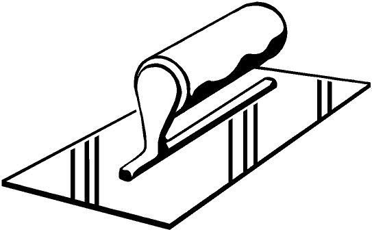 Tile trowel clipart graphic free Free Trowel Picture, Download Free Clip Art, Free Clip Art ... graphic free