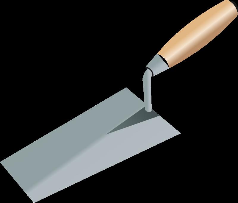 Tile trowel clipart png transparent Free Trowel Picture, Download Free Clip Art, Free Clip Art ... png transparent