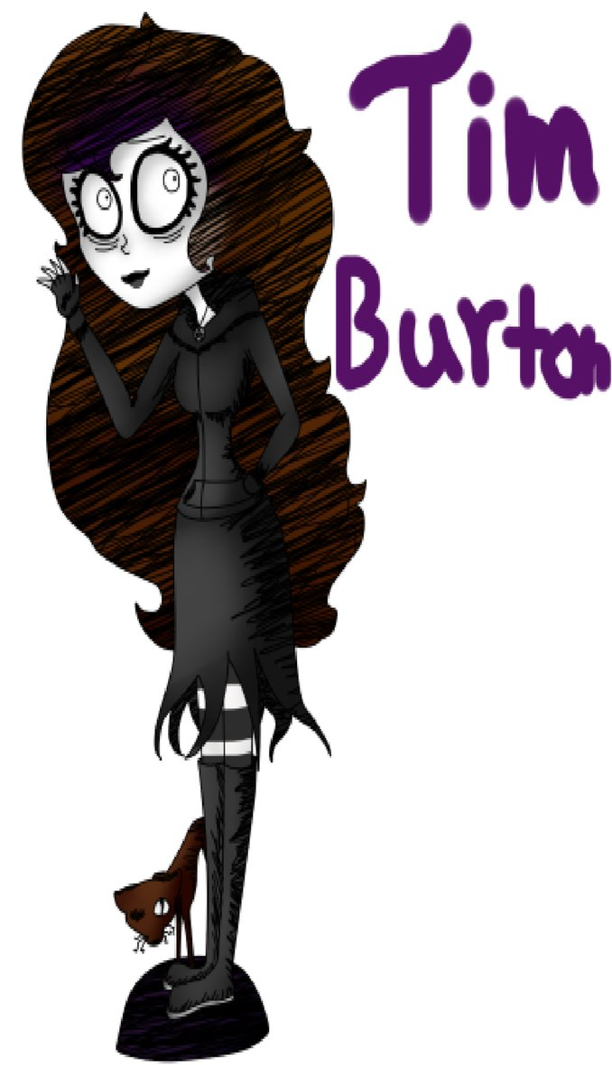 Tim burton style clipart banner black and white stock Tim Burton Clipart at GetDrawings.com | Free for personal ... banner black and white stock