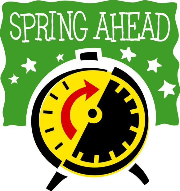 Time change 2015 clipart clip royalty free download Set clocks forward an hour Sunday for DST   The Times Weekly ... clip royalty free download