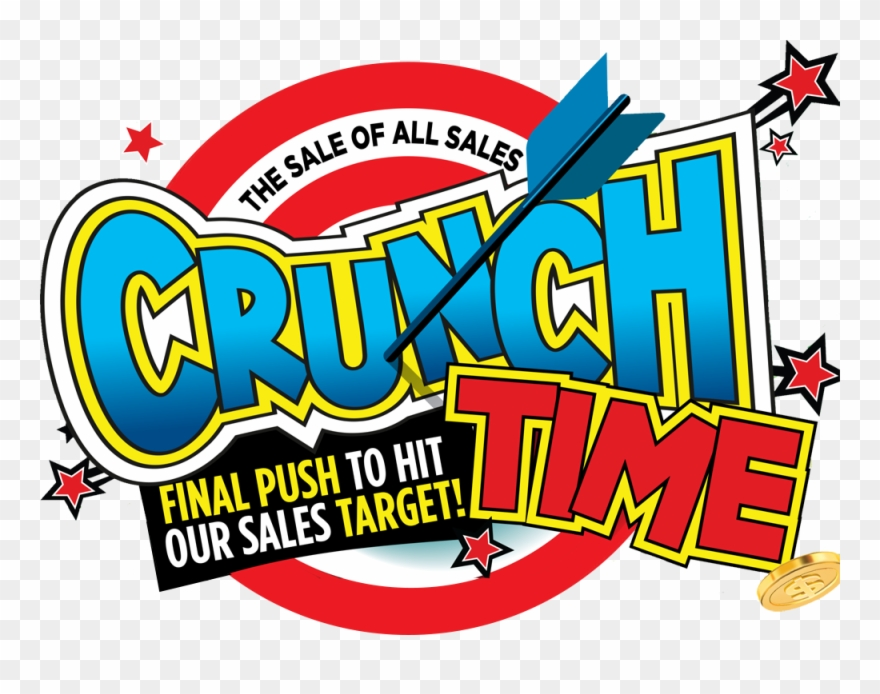 Time crunch clipart clip royalty free download Crunch Time Sales Event Clipart (#1441882) - PinClipart clip royalty free download