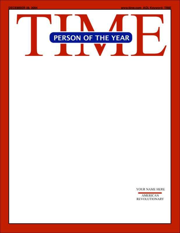 Time magazine cover template clipart picture library library 18 Blank Magazine Cover Design Images - Make Your Own Title ... picture library library