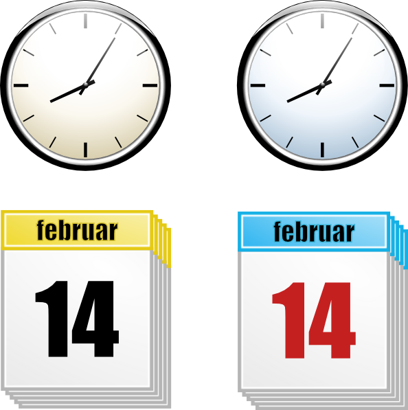 Time of day cliparts clip art royalty free stock Time And Day Clip Art at Clker.com - vector clip art online ... clip art royalty free stock