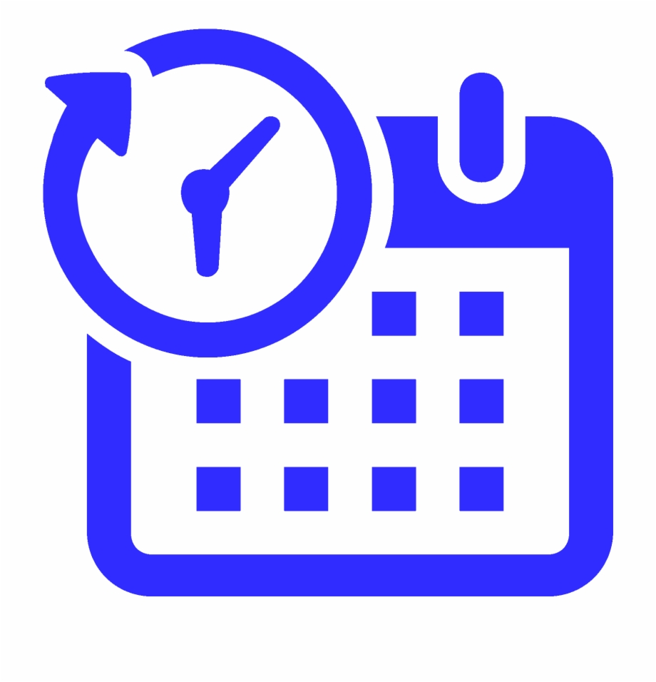 Time off clipart clipart transparent library Paid Time Off - Schedule Icon Clipart Png Free PNG Images ... clipart transparent library