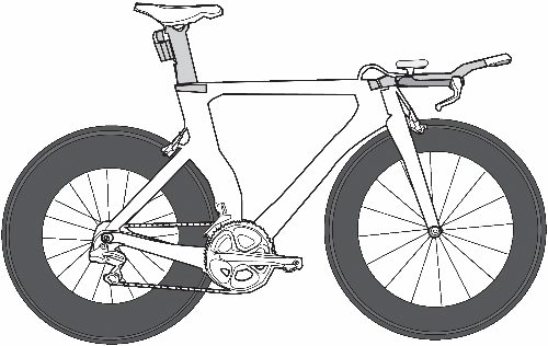 Time trial bicycle clipart clip art library download BikeFit Blog: Increase comfort on your bike with these articles. clip art library download