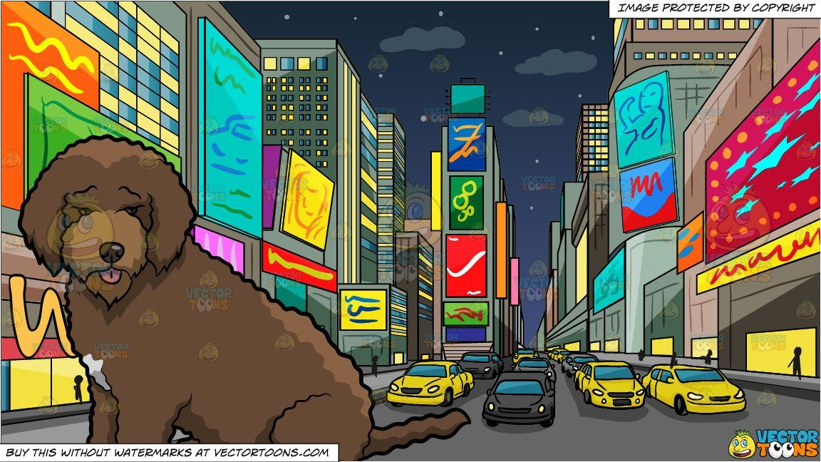 Times square clipart