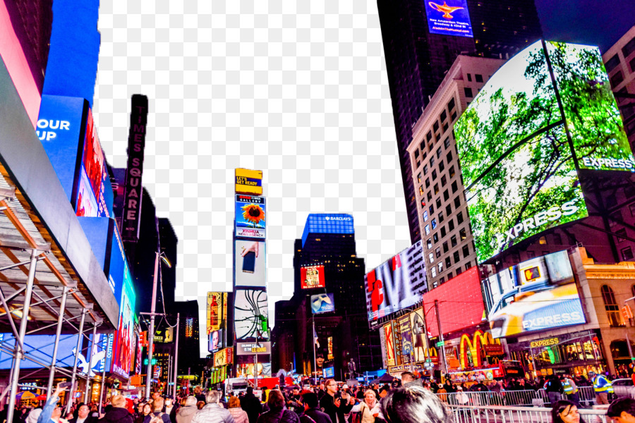 Times square clipart clip library stock New York City png download - 1200*800 - Free Transparent ... clip library stock