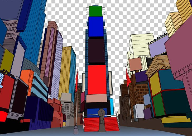 Times square clipart graphic free download Times Square Broadway Flat Design PNG, Clipart, City, City ... graphic free download