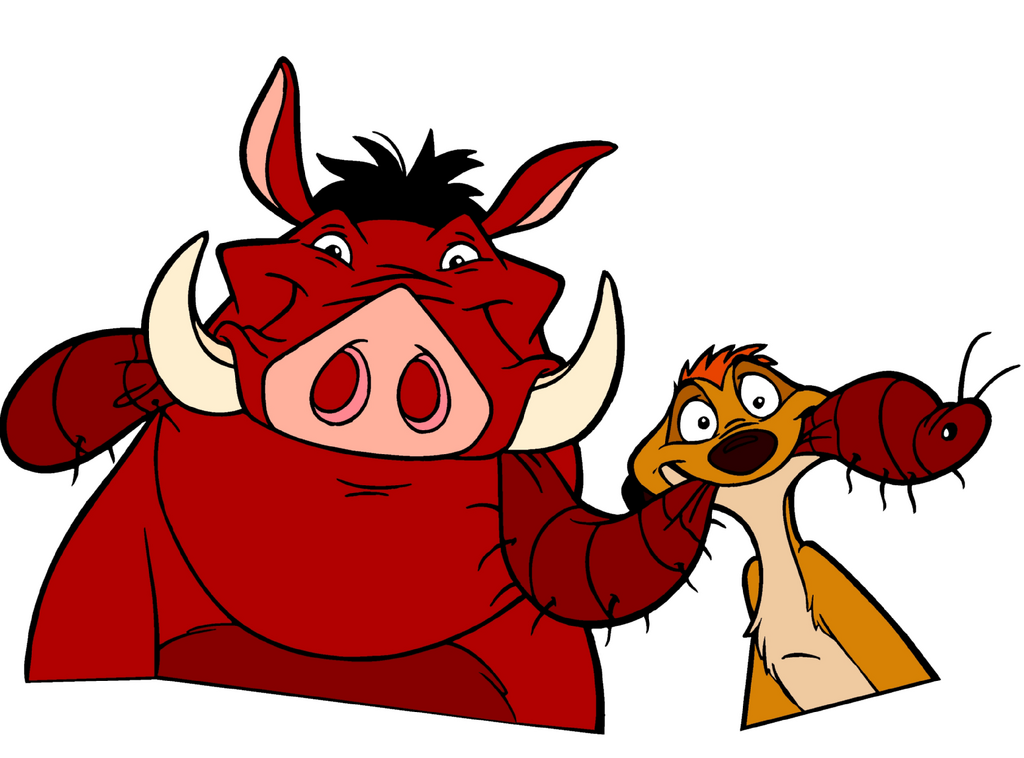 Timon and pumbaa clipart graphic library download Timon and Pumbaa - The Lion King Fan Art (39514633) - Fanpop graphic library download
