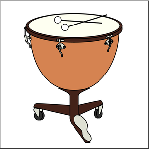 Timpanis clipart picture royalty free Clip Art: Timpani Color I abcteach.com | abcteach picture royalty free