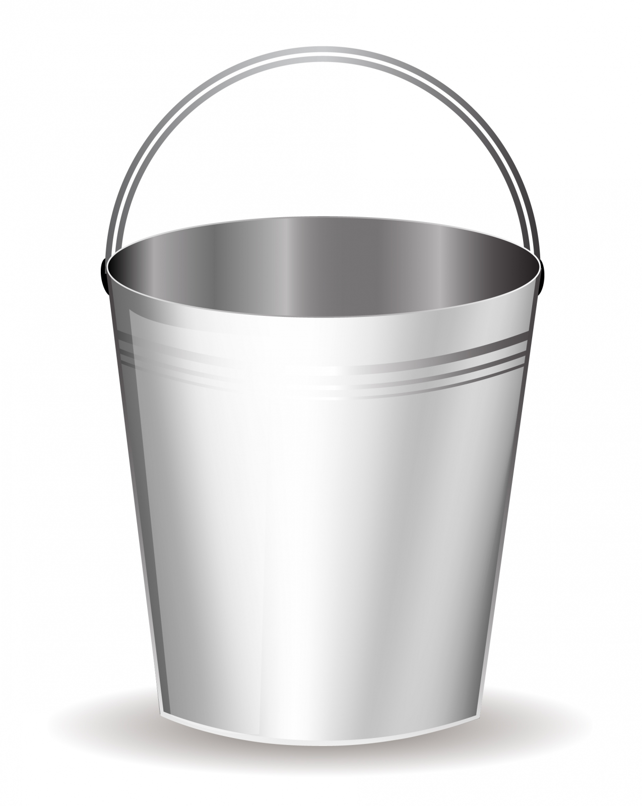 Tin bucket of water clipart clip art black and white Free White Bucket Cliparts, Download Free Clip Art, Free ... clip art black and white
