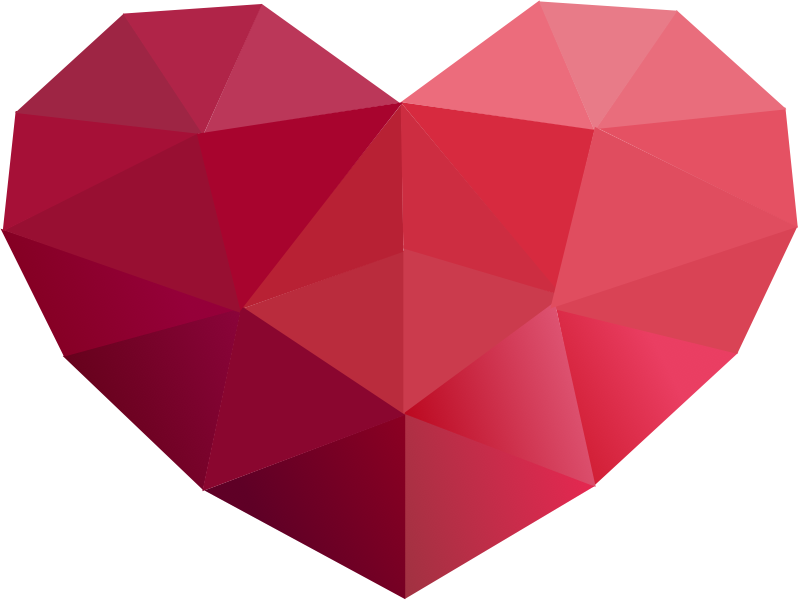 Tin man heart clock clipart banner transparent download Low Poly Series - Red Heart Icon | Pinterest | Low poly, Icons and ... banner transparent download