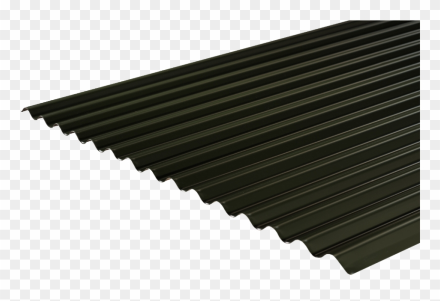 Tin roof clipart clip Clip Art Black And White Corrugated Roofing Profile - Black ... clip