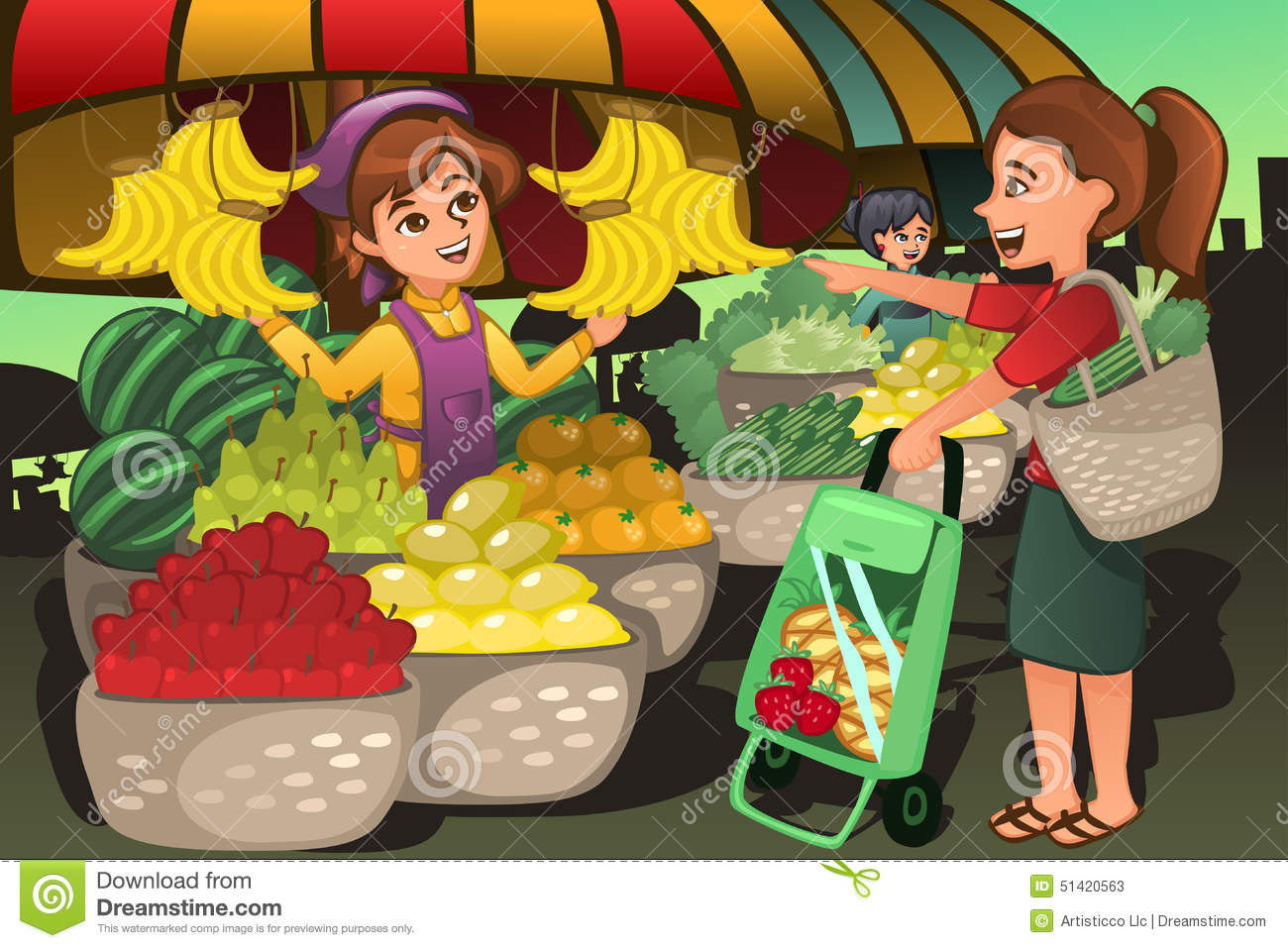 Tindera clipart banner freeuse download Market Clip Art | Clipart Panda - Free Clipart Images banner freeuse download