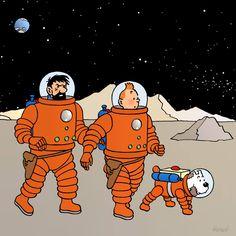 Tintin sur la lune clipart picture free 40 meilleures images du tableau TINTIN signé HERGÉ en 2016 ... picture free