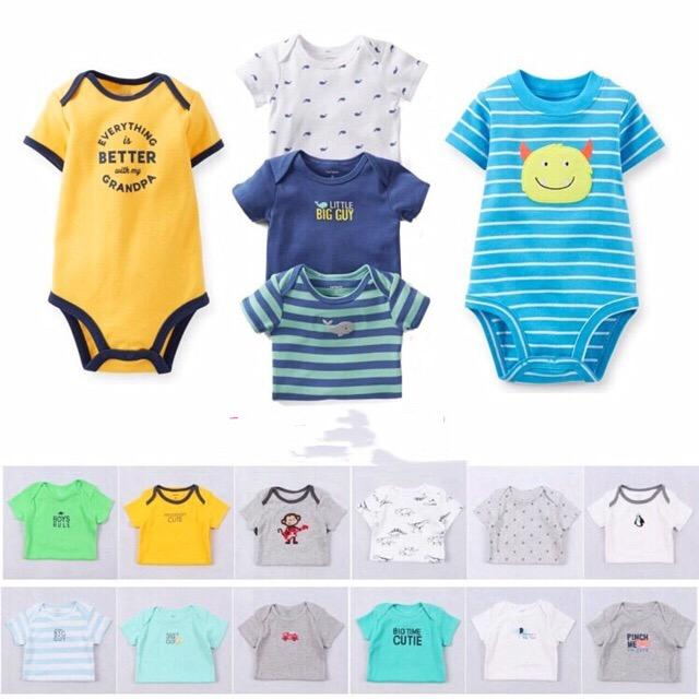 Tiny baby clothes on a clothesline clipart clip download BRANDED or CARTER\'S romper onesie bodysuits boys(randomly given)sold by each clip download