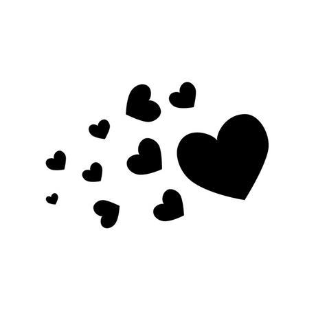 Tiny black heart clipart image transparent download Small black heart clipart 3 - WikiClipArt image transparent download