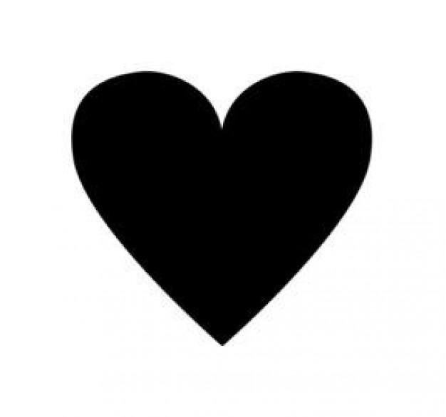 Tiny black heart clipart clipart royalty free Small black heart clipart 2 - WikiClipArt clipart royalty free