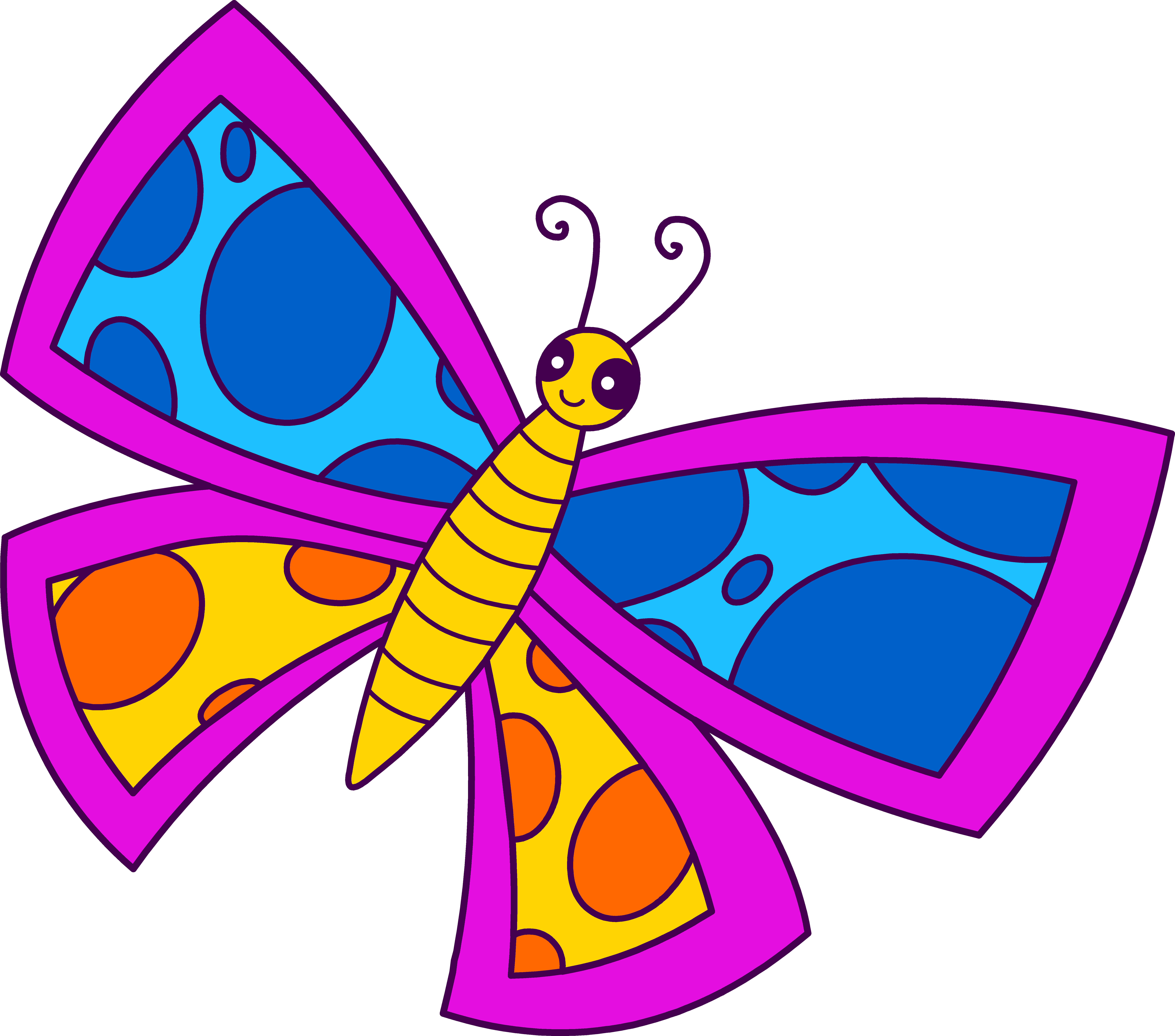 Tiny butterfly clipart vector freeuse download Free Butterfly Images Free, Download Free Clip Art, Free ... vector freeuse download